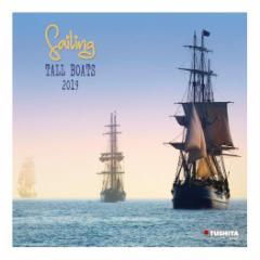 カレンダー 2019年 帆船 SALING TALL BOATS 壁掛け カレンダー TUSHITA インテリア平成31年 暦 通販  予約