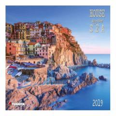 カレンダー 2019年 海の家 HOUSE BY THE SEA 壁掛け カレンダー TUSHITA インテリア平成31年 暦 通販  予約