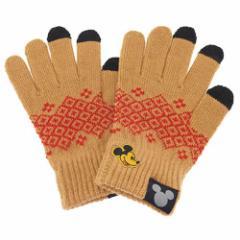 ミッキーマウス 女性用グローブ スマホ対応レディース手袋ディズニー キャラクターグッズ通販
