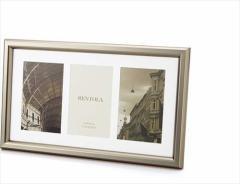 取寄品 RENTOLA フォトフレーム 写真立て 3ウィンドウ 253-529 インテリア雑貨グッズ通販