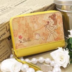 送料無料 美女と野獣 コインパース レザーコインケース プリンセスファッションアート アリエル ディズニー