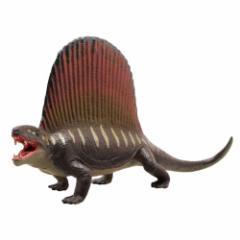 ディメトロドン フィギュア ソフトモデルフィギュア恐竜 玩具グッズ通販