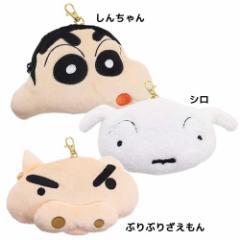 クレヨンしんちゃん 定期入れ リール式ぬいぐるみパスケース アニメキャラクターグッズ