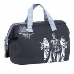 スターウォーズ 保冷バッグ 段弁当箱用保冷がま口ランチバッグ ブラック STAR WARS キャラクター グッズ