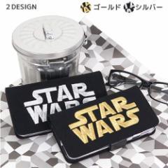 スターウォーズ iPhone 6S 6/6s専用ケース アイフォン6s対応フリップカバー 3D刺繍ロゴ STAR WARS キャラクターグッズ通販 メール便