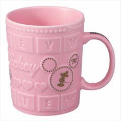 ミッキーマウス マグカップ デコチョコマグ ストロベリー ディズニー キャラクター グッズ