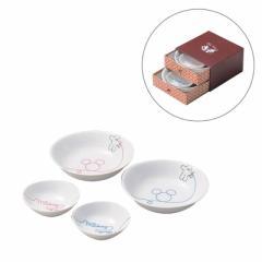 ミッキーマウス 食器ギフトセット ペア鉢4枚セット LOD エルオーディー ディズニー キャラクターグッズ通販