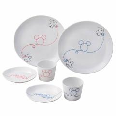 ミッキーマウス 食器ギフトセット ペアお食事セット LOD エルオーディー ディズニー キャラクターグッズ通販