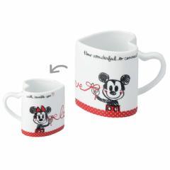 ミッキー&ミニー ペアマグセット ハートマグカップ2個セットディズニー キャラクターグッズ通販