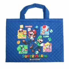 スーパーマリオ レッスンバッグ キルティングバッグ 2016  キャラクターグッズ通販