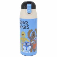 スターウォーズ 保温保冷水筒 ワンプッシュマグボトル ペーパーカット STAR WARS キャラクター グッズ