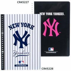 ニューヨークヤンキース ルーズリーフ ルーズリーフノート 50枚 MLB 野球 キャラクターグッズ通販 【メール便可】
