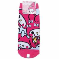 マイメロディ 女性用靴下 レディースソックス トリプル サンリオ キャラクターグッズ通販 【メール便可】