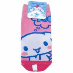 【クーポン】シナモロール 子供用靴下 キッズソックス キャンディ サンリオ キャラクターグッズ通販 【メール便可】