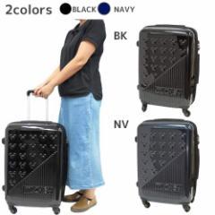 【送料無料】ミッキーマウス スーツケース 22インチ キャリーバッグ みつまるストライプ ディズニー キャラクターグッズ通販