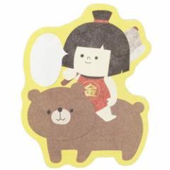 インバウンド ぽち袋 和ミニ封筒 3枚組 金太郎  日本製グッズ通販 【メール便可】