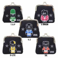 KRUNK × BIGBANG 小銭入れ ミニ がまぐち コインケース BANG BANG BANG ビッグバン キャラクターグッズ メール便可