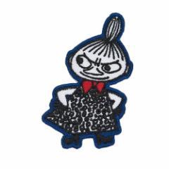 ムーミン ワッペン 刺繍アイロンパッチ リトルミイ 腕組み 北欧 キャラクターグッズ通販 【メール便可】