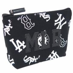 メジャーリーグ ペンポーチ ビッグペンケース 合皮ワッペン MLB 男の子向けグッズ通販