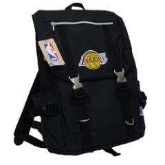 【送料無料】ロサンゼルス レイカーズ リュック デイパック NBA  バスケットボールグッズ通販
