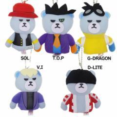 KRUNK × BIGBANG ぬいぐるみ玩具 フィンガーパペット マスコットビッグバン キャラクター グッズ
