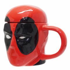 デットプール マグカップ 3D マグマーベル キャラクターグッズ通販