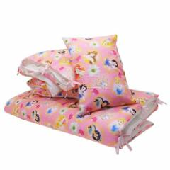 【送料無料】ディズニープリンセス 子供用寝具 お昼寝7点セット ビジューフラワー ディズニー キャラクターグッズ通販