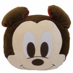ミッキーマウス クッション もちもちフェイスクッションディズニー キャラクターグッズ通販