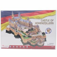 【送料無料】ドイツ ホーエンツォレルン城 立体模型 ビッグ3D立体パズル 185ピース  オブジェグッズ通販