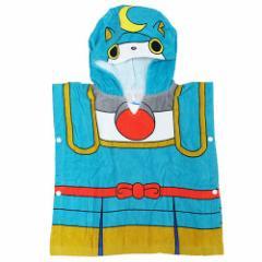 妖怪ウォッチ ラップ タオル なりきり 変身フ ード付き ポンチョ ブシニャン アニメキャラクター グッズ