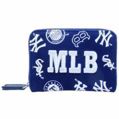 MLB 小銭入れ 立体刺繍 コインケース ミックス  野球グッズ通販 【メール便可】