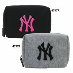 ニューヨークヤンキース ミニポーチ スウェットポーチMLB 野球グッズ通販