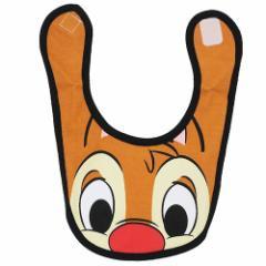 チップ&デール キャラスタイ ベビー ビブ スタンダードデール ディズニー キャラクターグッズ通販 【メール便可】