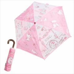 ハローキティ 折畳傘 折りたたみ傘 リトルレディ サンリオ キャラクター グッズ