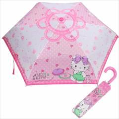 ハローキティ 折畳傘 折りたたみ傘 ガーリールーム サンリオ キャラクター グッズ