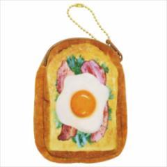 まるでパンみたいな 小物入れ ミニポーチ ベーコンレタスエッグ  おもしろ雑貨グッズ通販 【メール便可】