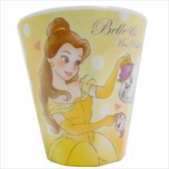 美女と野獣 メラミンカップ Wプリントメラミンコップ ベル&ポット夫人&チップ ディズニープリンセス キャラクターグッズ通販