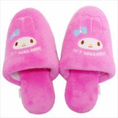 マイメロディ 室内履き あったかルームスリッパ ピンク サンリオ キャラクターグッズ通販