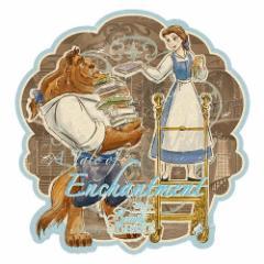 美女と野獣 ステッカー トラベルステッカー 3 Enchantment ディズニープリンセス キャラクターグッズ通販 【メール便可】