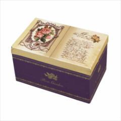 【取寄品】 オルゴール ブック型オルゴールボックス ローズ 美女と野獣  アンティーク風グッズ通販