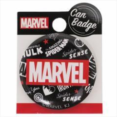 MARVEL 缶バッジ 44mm カンバッジ BOXロゴ チラシ マーベル キャラクターグッズ通販 【メール便可】