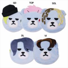 KRUNK × BIGBANG ミニポーチ ぬいぐるみ フェイスポーチ FXXK IT ビッグバン キャラクター グッズ