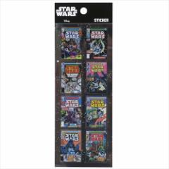 スターウォーズ デコステッカー クリア シール コミックカバー STAR WARS キャラクターグッズ通販 【メール便可】