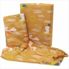 【送料無料】ムーミン カバーリング 寝具3点セット カラストゥス イエロー 北欧 キャラクターグッズ通販