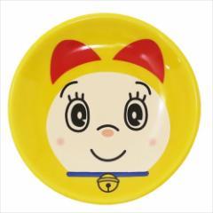 ドラえもん ミニプレート 陶磁器製ミニ丸小皿 ドラミ イエロー アニメキャラクター グッズ