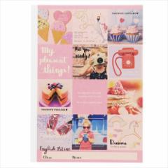 MY PLEASANT THINGS 英語ノート B5 クラフト 英習帳 15LINE かわいいグッズ メール便可