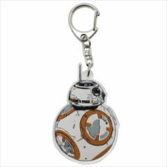 スターウォーズ エピソード8 キーリング アクリルキーホルダー 最後のジェダイ BB-8 STAR WARS キャラクターグッズ メール便可