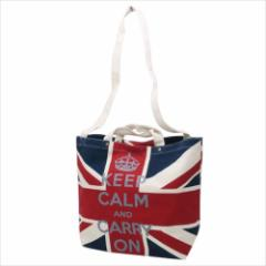 UK FLAG トートバッグ ショルダー帆布トート ユニオンジャック  おしゃれグッズ通販