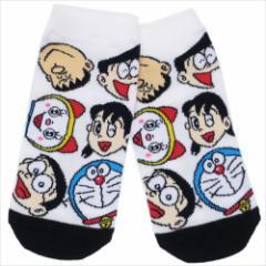 ドラえもん 女性用靴下 レディースソックス ともだちいっぱい アニメキャラクターグッズ メール便可