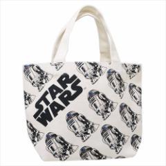 スターウォーズ ランチバッグ マチ付きコットンバッグ EP8 R2-D2 STAR WARS キャラクター グッズ